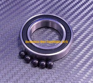 high temperature [QTY 4] 6807-2RS (35x47x7mm) Hybrid Ceramic Rubber Ball Bearing Bearings 6807RS
