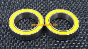 high temperature ABEC-5 [1 PCS] S6802-2RS (15x24x5 mm) 440c Stainless Steel CERAMIC Ball Bearing