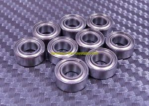 "high temperature [QTY 10] SR3ZZ R3ZZ (3/16"" X 1/2"" X 0.1960"") 440C Stainless Steel Ball Bearing"