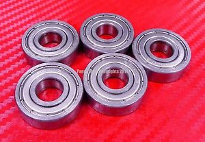 high temperature [QTY 10] S607ZZ (7x19x6 mm) 440c Stainless Steel Ball Bearing Bearings 607ZZ