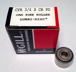 high temperature McGill Bearing CYR 3/4 S Corrosion Resistant Cam Yoke Roller ()