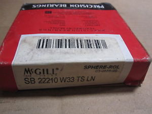 high temperature  McGILL PRECISION BEARING # SB 22210 W33 TS LN
