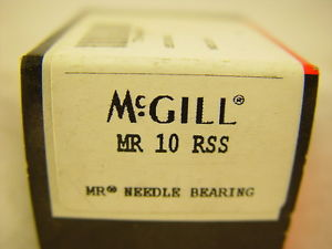 high temperature McGill MR 10 RSS Needle Bearing MR10RSS ~~~ LOT OF 8 ~~~