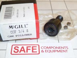 "high temperature McGill Cam Follower Bearing CCF-3/4-S Rollers 0.75"" Dia. Sealed Black Steel G53"