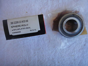 high temperature NIB McGILL Precision Bearing        SB 22206 C3 W33 SS        SB22206C3W33SS