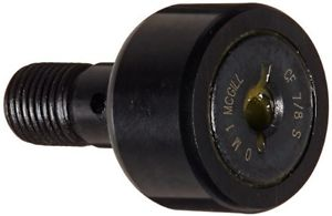 high temperature McGill CF7/8S Cam Follower, Standard Stud, Sealed/Slotted, Inch, Steel, 7/8""