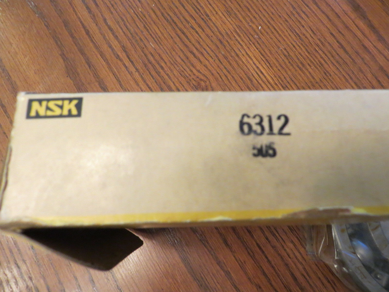 high temperature 6312 NSK New Single Row Ball Bearing