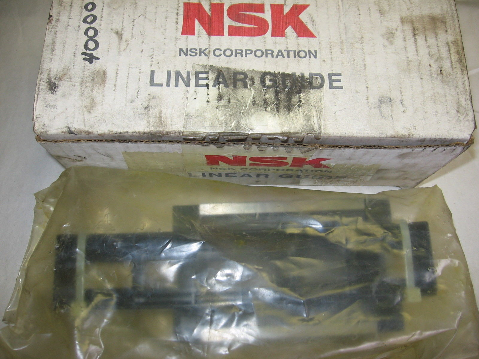 high temperature NSK Linear Ball Guide Bearing LAH45AN for 45mm Rail LAH 45AN -New Sealed-