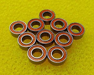high temperature SMR63-2RS (3x6x2.5 mm) 440c CERAMIC Stainless Steel Bearing (10 PCS) ABEC-7