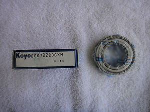 high temperature NIB  KOYO Ball Bearing  6007ZZC3GXM     6007ZC3