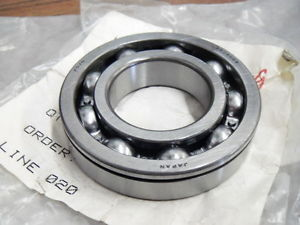 high temperature Koyo 6208NC3 Single Row Ball Bearing