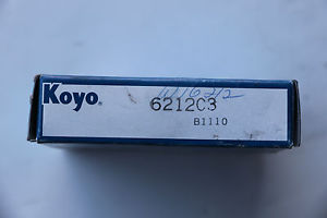 high temperature KOYO 6212 C3 Single Row Ball Bearing
