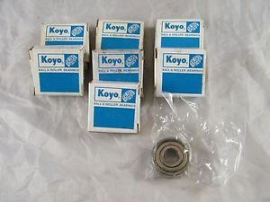 high temperature LOT OF 7 ~  ~ KOYO BALL BEARINGS ~ PART # 6201 ZZ ~ C3GCR