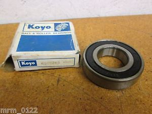 high temperature Koyo 62072RS BALL BEARING SEALED SINGLE ROW 35MM ID X 72 OD X 17MM Thick New