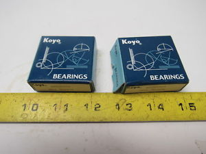high temperature Koyo 60032RS Single Row Deep Groove Ball Bearing 17x35x10mm Lot of 2