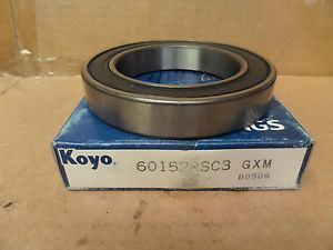 high temperature Koyo Rubber Sealed Ball Bearing 60152RSC3 6015RS 75X115X20MM New