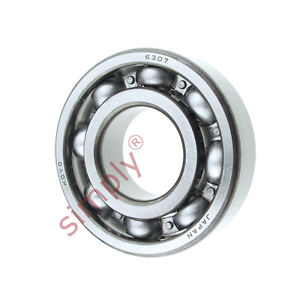 high temperature KOYO 6307 Open Deep Groove Ball Bearing 35x80x21mm