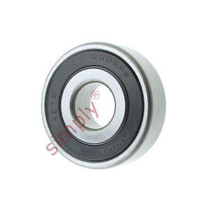 high temperature KOYO 63022RS Rubber Sealed Deep Groove Ball Bearing 15x42x13mm