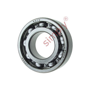 high temperature KOYO 6205 Open Deep Groove Ball Bearing 25x52x15mm