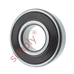 high temperature KOYO 63072RS Rubber Sealed Deep Groove Ball Bearing 35x80x21mm