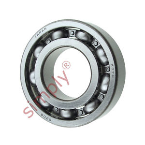 high temperature KOYO 6206 Open Deep Groove Ball Bearing 30x62x16mm
