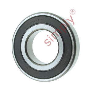 high temperature KOYO 62072RS Rubber Sealed Deep Groove Ball Bearing 35x72x17mm