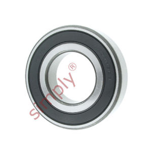 high temperature KOYO 62072RSC3 Rubber Sealed Deep Groove Ball Bearing 35x72x17mm