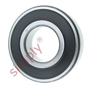 high temperature KOYO 63112RSC3 Rubber Sealed Deep Groove Ball Bearing 55x120x29mm