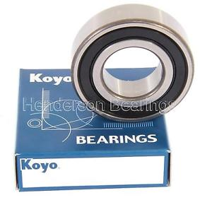 high temperature 6305-2RS Genuine Koyo Ball Bearing Sealed 25x62x17mm