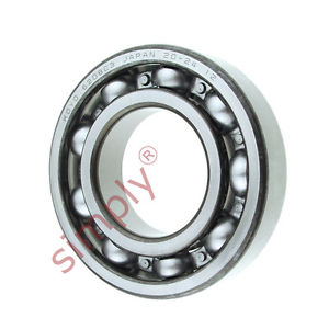 high temperature KOYO 6208C3 Open Deep Groove Ball Bearing 40x80x18mm