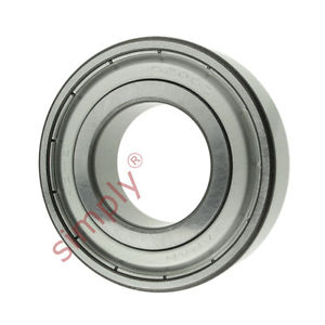 high temperature KOYO 62062Z Metal Shielded Deep Groove Ball Bearing 30x62x16mm