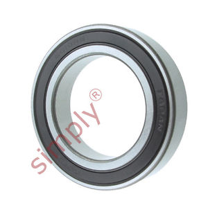 high temperature KOYO 60102RS Rubber Sealed Deep Groove Ball Bearing 50x80x16mm