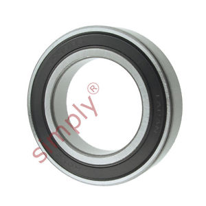 high temperature KOYO 60092RS Rubber Sealed Deep Groove Ball Bearing 45x75x16mm