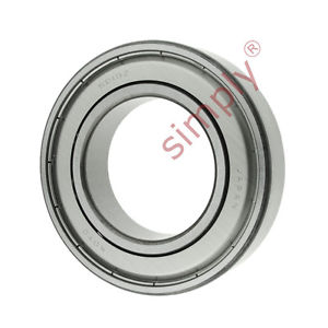 high temperature KOYO 62102Z Metal Shielded Deep Groove Ball Bearing 50x90x20mm