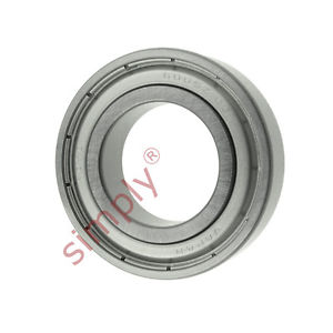 high temperature KOYO 60052ZC3 Metal Shielded Deep Groove Ball Bearing 25x47x12mm