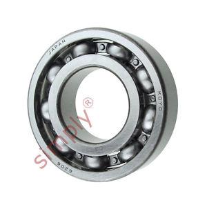 high temperature KOYO 6206C3 Open Deep Groove Ball Bearing 30x62x16mm