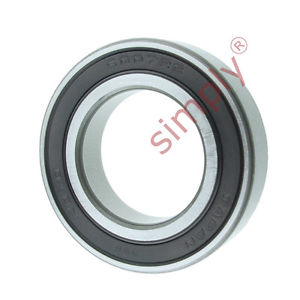 high temperature KOYO 60072RS Rubber Sealed Deep Groove Ball Bearing 35x62x14mm
