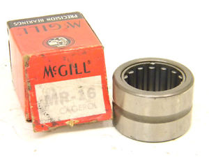 "high temperature  SURPLUS McGILL CAGEROL BEARING MR-16 (O.D.-1.500"")"