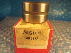 high temperature McGill MR 16 SS, MR16 SS CAGEROL Needle Roller Bearing