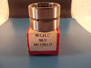 high temperature McGill MR 20, MR20, MR Series CAGEROL Bearing, Outer Ring & Roller Assembly
