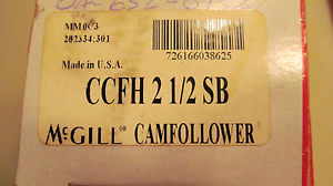 high temperature New in the Box McGill CCFH 2 1/2 SB Free Shipping