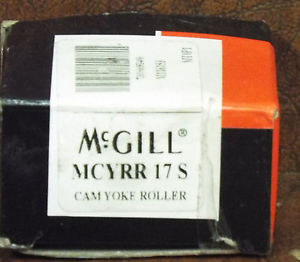 high temperature 1  MCGILL MCYRR-17S BEARING NEEDLE ROLLER YOKE ROLLER SEALED NIB *MAKE OFFER