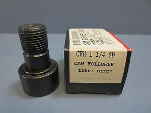 "high temperature 1 Nib McGill CFH-1-1/4-SB Cam Follower Bearing RD 1.2500"" RW .7500"" SD .7500"""