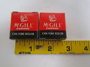 high temperature McGill Camrol MCYR 5 SX Yoke type metric camfollower bearings lot of 2