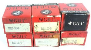 high temperature LOT OF 6 NIB MCGILL MI24 PRECISION INNER RACE BEARINGS MI-24