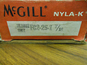 "high temperature  McGILL NYLA-K FLANGE UNIT BEARING FC2-25-1 7/16 "" ………… WQ-132"