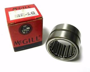 "high temperature BRAND  IN BOX MCGILL MR16 CAGEROL BEARING 1"" X 1-1/2' X 1"" (5 AVAILABLE)"