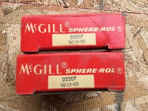high temperature 2-McGILL  Bearings, Cat# 22207 W33-SS ,comes w/30day warranty, free shipping