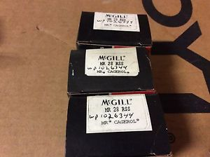 high temperature 3-McGILL bearings#MR 28 RSS ,Free shipping lower 48, 30 day warranty!