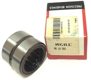 high temperature NIB MCGILL MR18SRS BEARING CAGED ROLLER 1-1/8 X 1-5/8 X 1-1/4INCH, MR-18-SRS